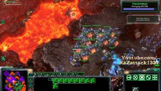 [Hard] Starcraft 2 : WOL Mission 26 All In vs Air ALL Achievements Pt 3/3