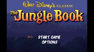 SNES Longplay [452] Jungle Book