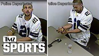 Dallas Cowboys Fan Breaks Handcuffs, Escapes Police...In Ezekiel Elliott Jersey | TMZ Sports