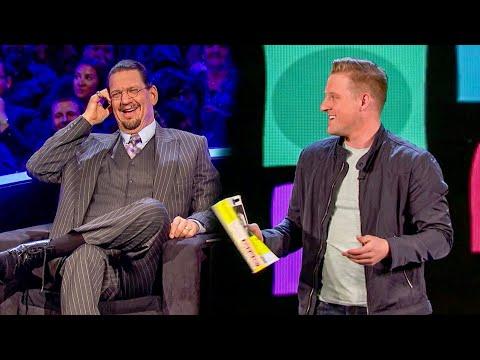 Can Magician FOOL Penn & Teller with SWORD PHONE BOOKS