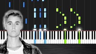 Justin Bieber - Sorry - Piano Cover/Tutorial by PlutaX - Synthesia