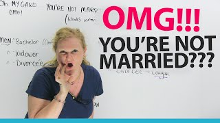 Why aren't you married? How to talk about being single!