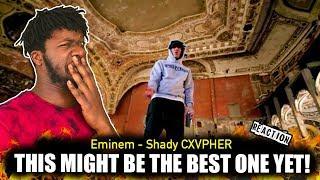 Shady CXVPHER - Eminem Freestyle (REACTION!!!)