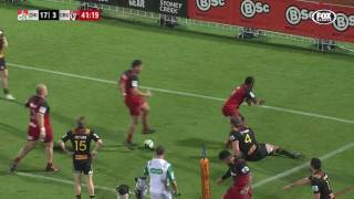 Super Rugby Rd 15: Chiefs v Crusaders