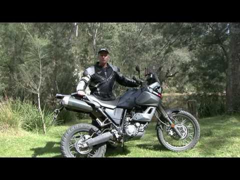 2009 Yamaha XTZ660 Tenere Test