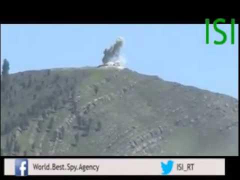 Amazing shot on TTP by Pakistan Army Tank