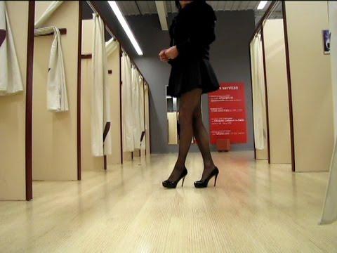 High heels and dresses for the New Year Transvestite Crossdresser
