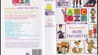 ABC For Kids - Mixy Presents More Favourites VHS (1998)