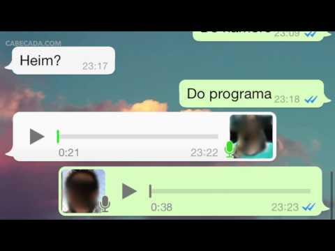 ANUS INFANTIL Conversa de Whatsapp com Acompanhante
