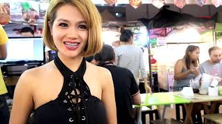 Thai Girl Wants My Banana - Bangkok Night Market