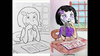Coloring Book Corruptions.WOW!! 🐶 🐱 🐭 🐹