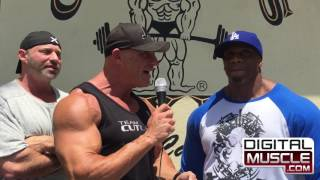 Lionel Brown & Eric Broser on Muscle Beach TV