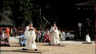 Samurai Archery Ceremony: Musha Jinji 2013. Kyoto, Japan 【HD】