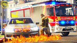 « FEUERWEHR bei der ARBEIT! » - GTA 5 Rescue Mod V - Deutsch - Grand Theft Auto 5