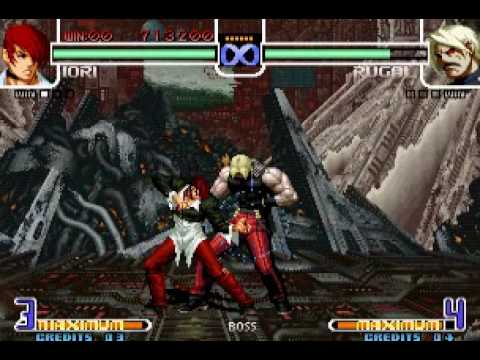 kof 2002 iori vs rugal