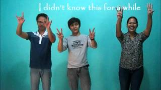 I CAN LIVE - Sing sign language- philippines-Palawan