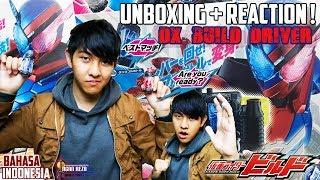 UNBOXING + REACTION ! DX BUILD DRIVER etc. / ビルドドライバー [Kamen Rider Build] - [Bahasa Indonesia]