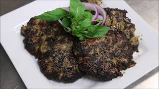 How To Make Pakistani Chapli Kebab
