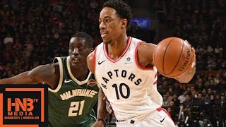 Milwaukee Bucks vs Toronto Raptors Full Game Highlights / Jan 1 / 2017-18 NBA Season