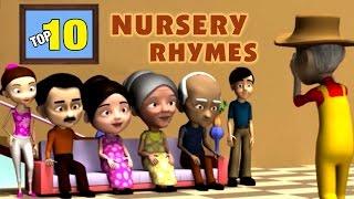 Top 10 Nursery Rhymes Collection 1   Nursery Rhymes With Lyrics   3D Nursery Poems For Kids Vol 3