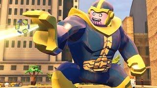 Lego Marvel Vingadores #33: Como Desbloquear o Thanos - Xbox One Gameplay