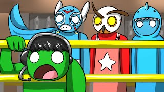 HILARIOUS GLITCH! - Gang Beasts Funny Moments