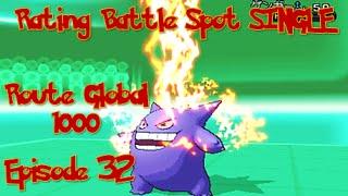 Pokemon XY League Rating Battle Spot Single - Route Global 1000 Episode 32 - Avoiding Hax 2