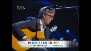 121212 SANDY RELIEF CONCERT - ERIC CLAPTON - NOBODY KNOWS YOU WHEN YOU'RE DOWN AND OUT