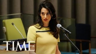 Amal Clooney Urges The U.N. To Investigate ISIS | TIME