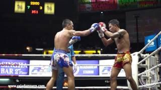 OneSongchai Battle : Rajadamnern Stadium on  Main Fight : Puen Kol Tor. Surat VS Wan Chalong