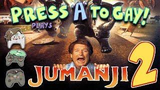 Press A To Gay! Plays Jumanji PS2 (Part 2)