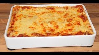 Schnelle und leckere Lasagne selber machen - Kochnoob