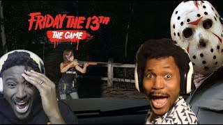THEY SHOT MY BOii CORY!!! | Friday The 13th w/ CoryxKenshin #CoryxPoiised