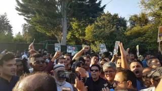MD Akther Hussain- UK BNP Vice President- Demonstration against KILLER Hasina (2016)