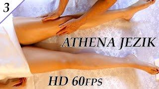 Leg & Thigh Swedish Massage Techniques - ASMR Athena Jezik Full Body Series 3 of 7 HD 60P