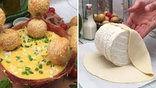 Summer-time Fondue 🌞 Cheesy Dips 🧀 A Mozzarella Lake 🇮🇹 We