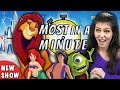 Who Can Name The Most Disney Movies In A Minute? | Most In A Minute (REACT)