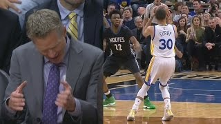 Stephen Curry Passes His Dad in All Time Scoring! Steve Kerr Rage