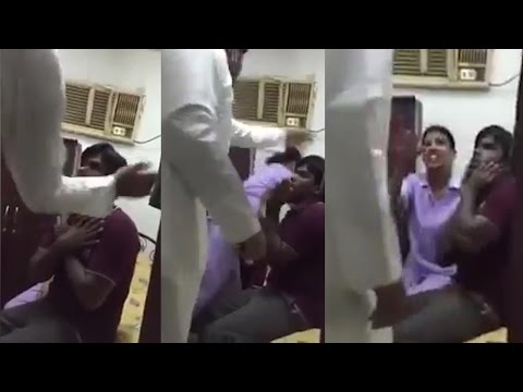 Xxx Mp4 Saudi Man Beat Indian Driver In Front Of His Wife Watch Video वनइंडिया हिन्दी 3gp Sex