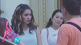 "Kris TV: Kris, Kim during ""Etiquette For Mistresses"" shooting"