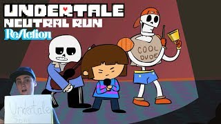 NEUTRAL RUN - Undertale Animation Parody Song REACTION