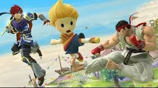 Super Smash Bros Wii U - How to Download - Ryu, Roy, and Lucas
