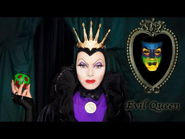 Evil Queen Snow White Makeup Tutorial - Halloween Transformation