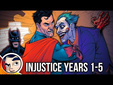 Injustice Year One to Five Full Story Comicstorian