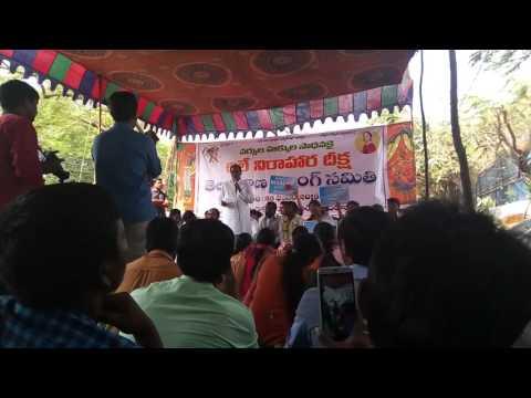 Telangana rastra nursing samithi strike at indira park.HYD