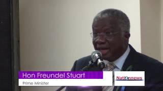 EXTRA: Prime Minister Freundel Stuart in New York
