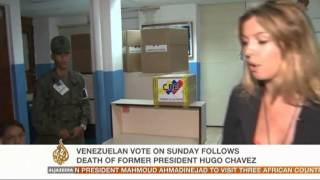 Venezuela's voting process
