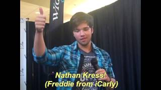 Vlog: Nathan Kress (Freddie from iCarly) at the Mall!