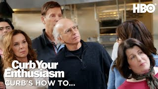 How to Get Seconds | Curb Your Enthusiasm | Season 9