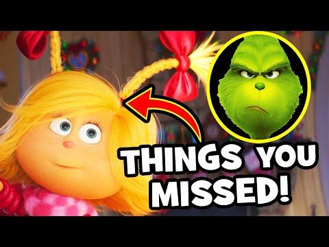 17 EASTER EGGS You Missed in THE GRINCH